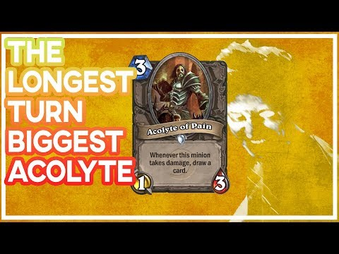 Hearthstone: Longest Turn And Biggest Acolyte