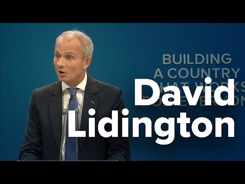 David Lidington: Speech to Conservative Party Conference 2017