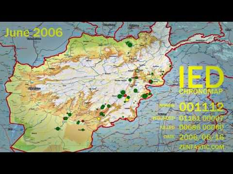 IED Attacks in Afghanistan 2004-2009