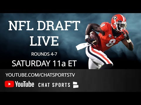 NFL Draft 2019 Live - Rounds 4-7   Day 3