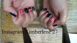 Mickey Mouse Nail Tutorial