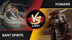 VS Live!   Bant Spirits VS Humans   Modern   Match 1