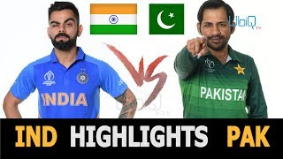 "Cricket World Cup 2019 Full Highlights ""India vs Pakistan"" Full Match Highlights Today"
