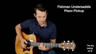 Acoustic Guitar Pickup & Mic Comparison - K&K, L.R. Baggs, iSolo, Fishman Piezo