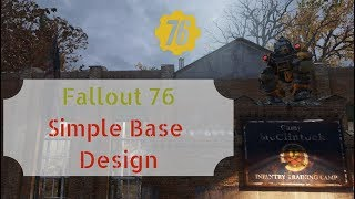 Fallout 76 Simple Base Design That Fits Everywhere!
