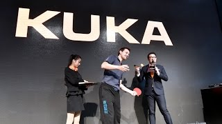 Repeat youtube video Timo Boll and KUKA have fun with our fans in China