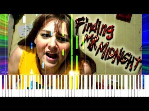 Fran Bow: Finding Mr. Midnight - Random Encounters [Synthesia Piano Tutorial]