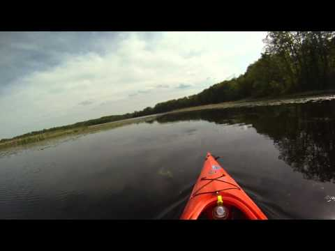 Kayaking the Martiny Chain of lakes