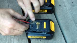 Dewalt Battery Charging Fix