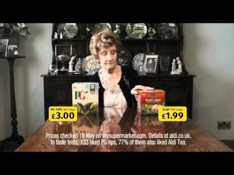 Aldi Tea Advert