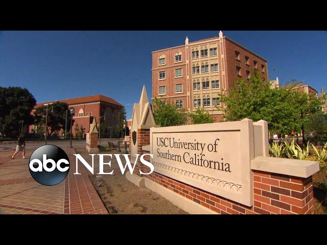 USC parent sentenced to 6 months in prison for college admissions scandal l ABC News