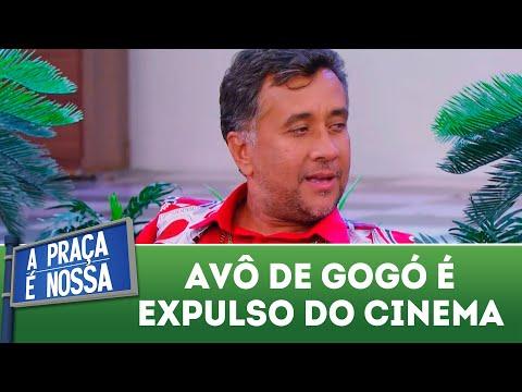 Avô de Gogó é expulso do cinema | A Praça é Nossa (24/05/18)