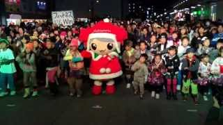 12月14日 土曜日 福山駅前広場にて開催された ルクシアタふくやま での ...