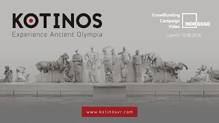 KOTINOS - Experience Ancient Olympia (Indiegogo Campaign Video)