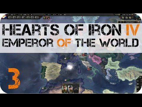 Hearts Of Iron IV: Emperor Of The World E3