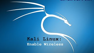 Kali Linux Virtual Box enable wireless (airmon-ng FIX)