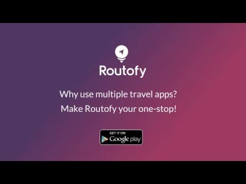 Routofy, the door-to-door travel booking app