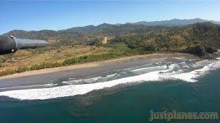 WingCAM into Punta Islita, Costa Rica
