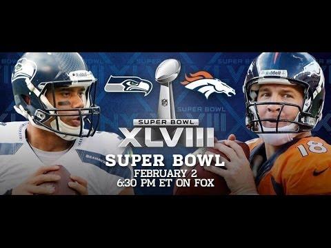 Seahawks vs Broncos | NFL Super Bowl XLVIII | Madden 25
