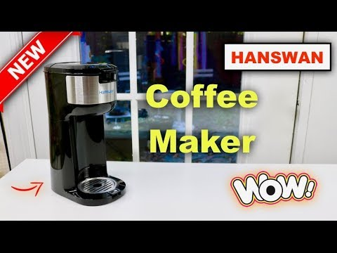 😍   HANSWAN  2 in 1  Single Serve  Coffee Maker – Review      ✅