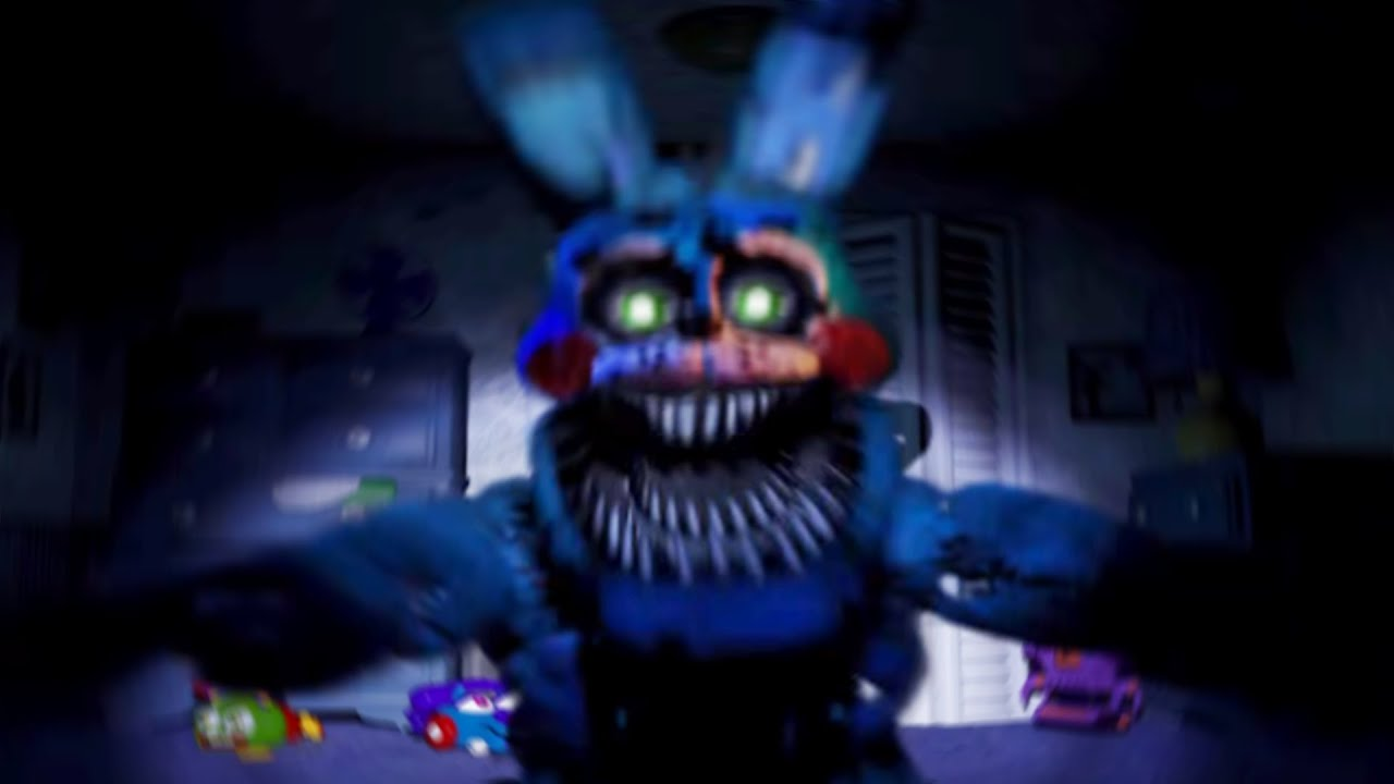 Withered Nightmare Bonnie Jumpscare Fnaf4 | MP3SPEEDY.NET