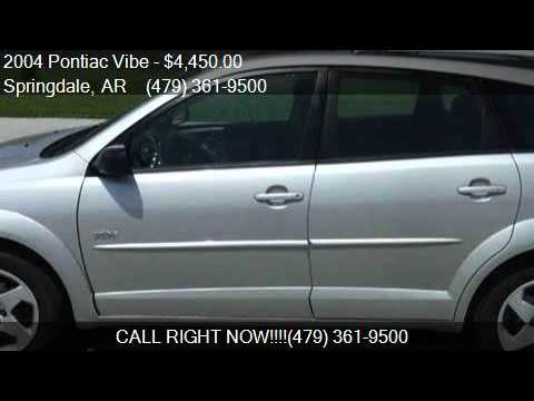 2004 Pontiac Vibe Base Fwd 4dr Wagon for sale in Springdale,