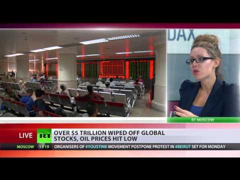 BREAKING NEWS: BLACK MONDAY- CHINA STOCKS SLIDE, $5 TRILLION WIPED OFF GLOBAL STOCKS