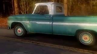"1966 Chevy C10 Custom Cab Video 2 - ""For Sale"""