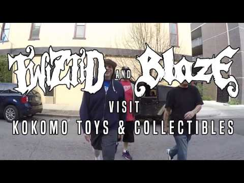 Twiztid & Blaze Ya Dead Homie Visit Kokomo Toys & Collectibles