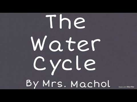 The Water Cycle by Mrs. Machol (lyric video)