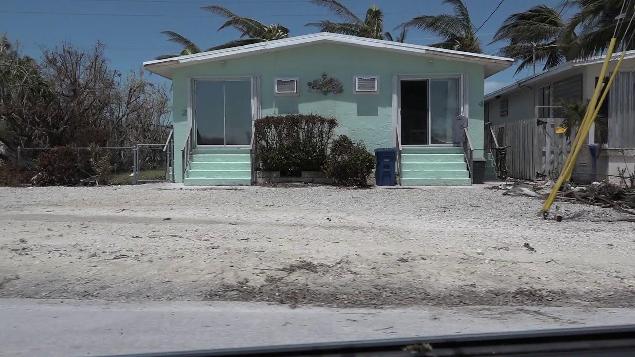 Clara Blvd In Key Colony Beach Florida Keys Post Hurricane Irma
