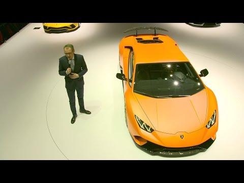 Lamborghini Lamborghini Huracán Performante world premiere at 2017 G