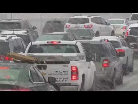 Snow snarls Atlanta, other parts of the south