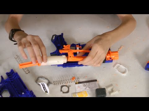 Nerf Retaliator Mod Omw Unleashed Stage 1 Kit Youtube