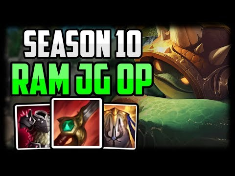 How To Play Rammus In Season 10 For Beginners | Rammus Jungle GUIDE Unranked To Challenger Episode 3