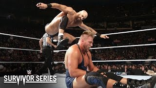 Jack Swagger vs. Cesaro: Survivor Series 2014 Kickoff