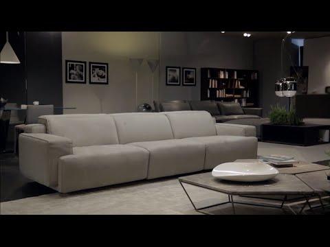 sofas for less cost to reupholster sofa cushions natuzzi - iago italia youtube