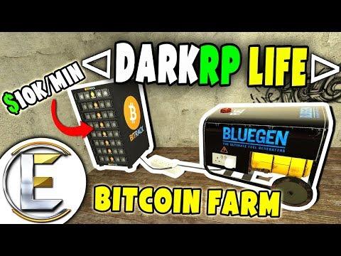 Bitcoin Farm Making Big Money - GMOD DarkRP Life (EP 2)