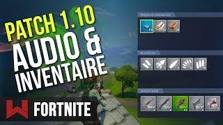 PATCH 1.10: PREPARE YOUR OREILLES Fortnite Battle Royale
