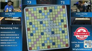 North American Scrabble Championship Round 28