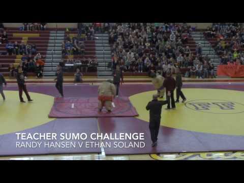 Staff vs. Staff Sumo Wrestling - SnoBall, Feb 2017