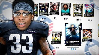 THE 2019 ALL-AAF TEAM SQUAD BUILDER! Madden 19 Ultimate Team