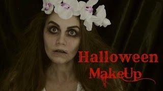 Макияж для Хэллоуина/ Образ на Хэллоуин Мёртвая невеста// Suzi Sky