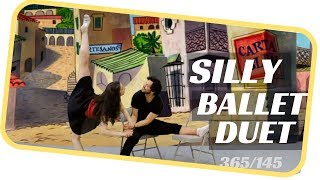 Funny ballet dance- ballet 145