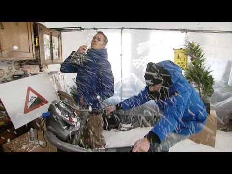 Proefkonijnen - Wintersport (maar dan thuis)