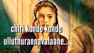 Kanne kanne...Mandharam song lyrics | Asif Ali |