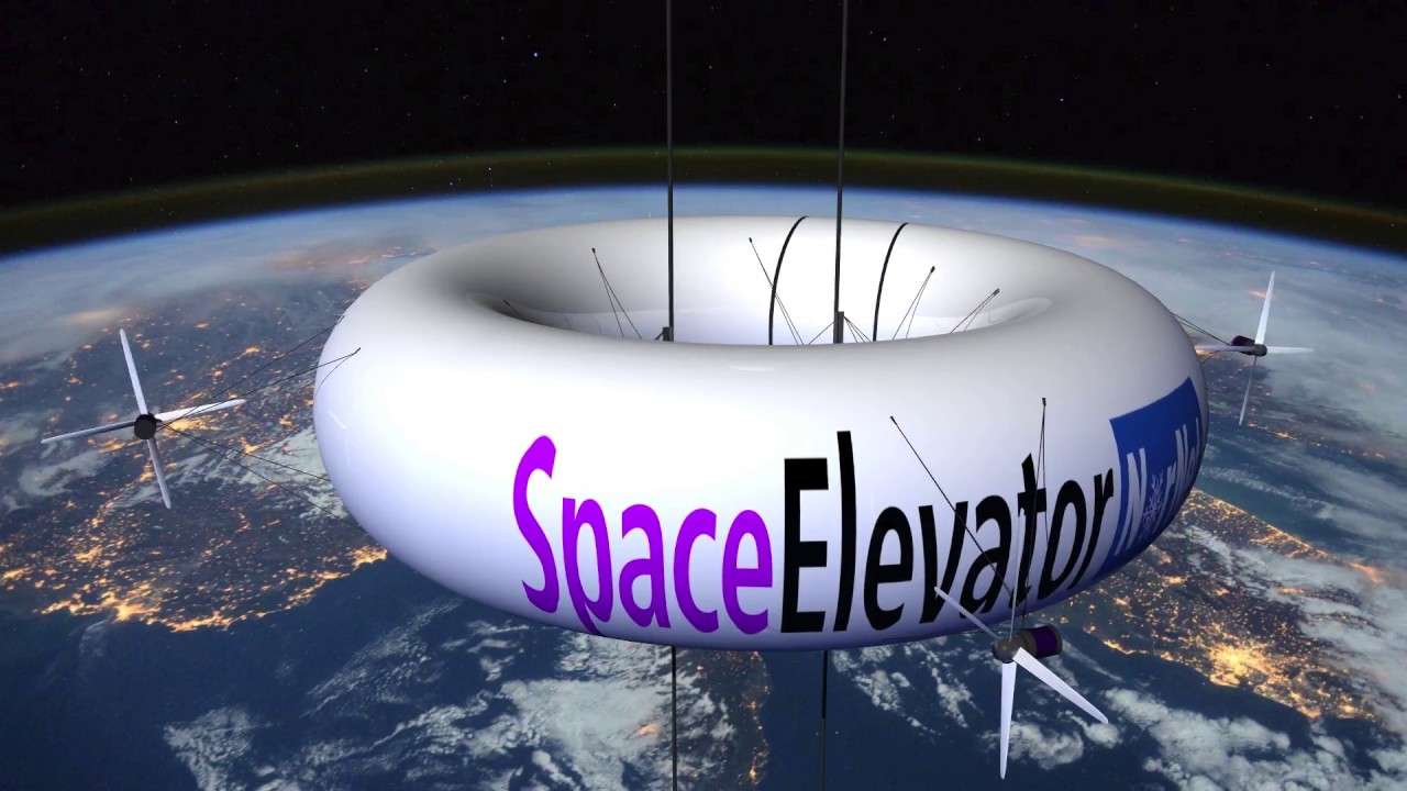 Space elevator for Trump, NASA, Elon Musk, SpaceX, ESA and ...