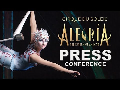 Alegría | BEST Moments Announcing the Return of an Icon | Cirque du Soleil
