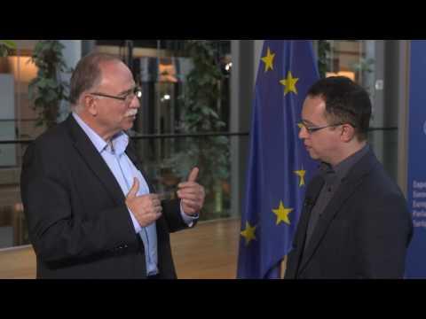 Δηλώσεις Δ. Παπαδημούλη στην ιστοσελίδα news247.gr (βίντεο): «Να επικρατήσει η λογική και όχι η αδιαλλαξία του κ. Σόιμπλε και του ΔΝΤ»