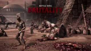 Mortal Kombat X Blanche Brutality